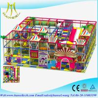 Quality Hansel kids soft play sponge playground indoor soft playground equipment for sale
