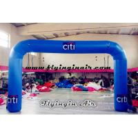 China Cheap Blue Inflatable Arch for Trade Show and Business Display on sale