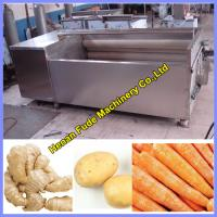 Quality ginger cleaning and peeling machine for sale