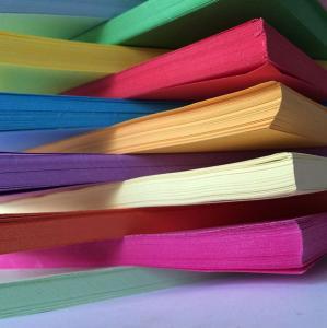 China Orange / Purple DIY Handmade Paper Handmade Chart Paper 76cm * 104cm on sale