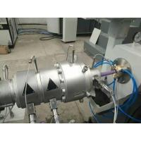 Quality Single Screw PVC Pipe Extrusion Line High Pressure Radiant Heating System for sale