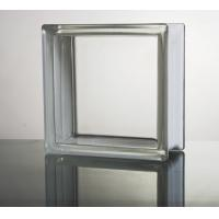 Quality 190x190x95mm 240x240x80mm DIRECT CLEAR glass blocks window for sale
