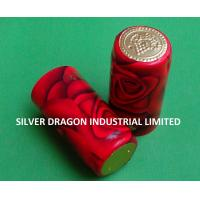 Best PVC SHRINKABLE WINE CAPSULE WITH PATTERN wholesale