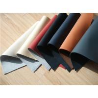 China 7 Colors Recycled Leather Fabric Cow Real Leather Upholstery Fabric on sale