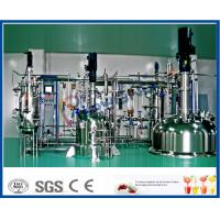 Quality Multi Stage SUS316 Stainless Steel Tanks With Jacket Temperature Control for sale