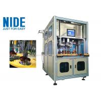 Quality Efficent Automatic Coil Winding Machine / Wire Coil Inserting Machine Four Working Station for sale
