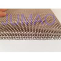 Quality Square Plain Weave Stainless Steel Wire Mesh Sintered With Large Flow for sale