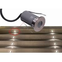 Quality DMX Waterproof Aluminum LED Mini Ground Light Warm White 3W LED In-ground Driveway Lights for sale