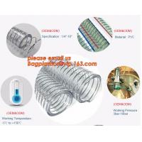 Transparent PVC Spiral Steel Wire Reinforced Pipe Floating Dredge Hose