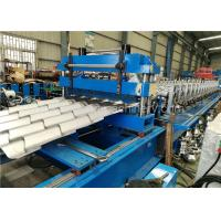 Quality Corrugated Metal Roofing Steel Tile Roll Forming Machine With High Performance for sale