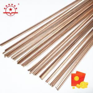 Quality RHVAC A / C 450mm 550mm Copper Phosphorus Brazing Rods for sale