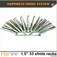"Best Liuyang Happiness 1.5"" 33 shots Roman candle fireworks display racks wholesale"