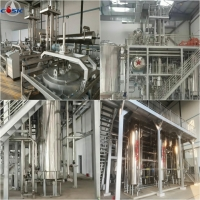 China 700m2 1500L×3 CBD Crystal Oil Extraction Machine for sale