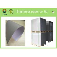 China Recycled Premium Coated A4 Paper Board , Hard Stiffness Beverage Board Paper on sale