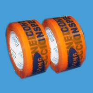 48mm acrylic box Sealing custom Printed Packaging Tape , 72rolls / cts