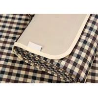 Quality Water Repellent Plaid Picnic Mat Collapsible For Camping / Hiking for sale