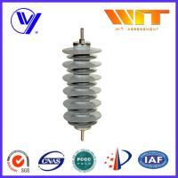 Silicon Rubber Zinc Oxide Lightning Arrester 33KV Surge Diverter for Transformer Protection