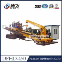 China 450Ton Capacity City Construction DFHD-450 Horizontal Directional Drilling HDD Rig Machine on sale
