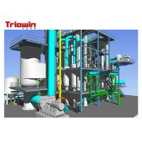Quality MVR Multiple Effect Falling Film Evaporator Chemical Processing Plant New Condition for sale