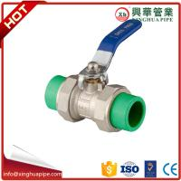 China Water Control Brass Ball Valve Ppr Double Union Ball Cock Flange Connection on sale