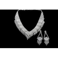 Best High Quality Guarantee Bridal Necklace Sets Fashion Design Bridal Necklace Earring Sets for Party BF139 wholesale