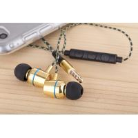 Quality high quality Nice Magnet metal in-ear sport bass with mic for iphone&Android metal earphone with mic for sale