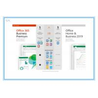 Buy cheap Online Activation Microsoft Office 2019 Vision Home And Business Key Card from wholesalers