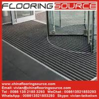 China Commercial Building Aluminium Entrance Mats Outdoor Recessed Mat Architectural Matting on sale