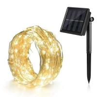 Quality Battery Powered Solar Powered Outdoor String Lights Decorations Waterproof Lamp for sale