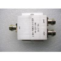 Quality 350 - 500MHz UHF Power Splitter , Silver Color 2 Way Power Divider for sale
