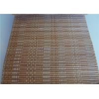 Quality Horizontal Bamboo Roll Up Curtains Mould Proof Compact Framework Room Use for sale