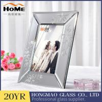 Quality Creative Glass Mirror Photo Frame For Desk Decoration OEM ODM Available for sale