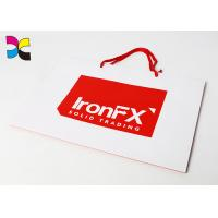 Quality CMYK Color Offset Printing Custom Paper Bags , Promotional Paper Carrier Bags for sale