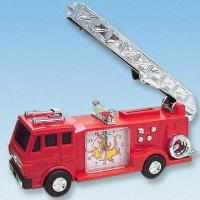 Quality Fire Engine Alarm Clock with Flashing Light for sale