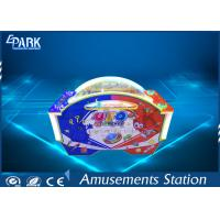 China UFO Shape Air Hockey Video Arcade Game Machines With LED Light on sale