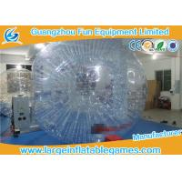 Adult Inflatable Giant Zorb Ball , Inflatable Hamster Ball For Humans