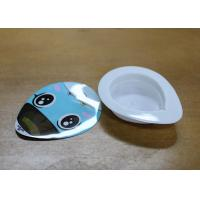 China Heart Shaped Small Plastic Containers , Whitening Capsule Sleeping Mask Cup on sale