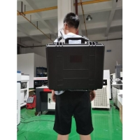 China 50W 1060nm Laser No Contact Backpack Rust Remover for sale