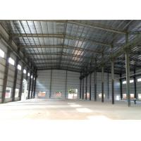 Quality High Strength Steel Structure Workshop Eco Friendly For Food / Equipment Processing for sale