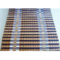 Quality Waterproof Bamboo Roller Window Shades Weaving With Raffia Custom Color for sale