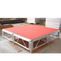 Quality 1.22*1.22mm Adjustable Aluminum Movable Plywood / Glass For Wedding / Show for sale