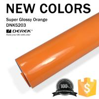 Quality Super Glossy Car Wrapping Film - Super Glossy Orange for sale