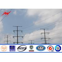 Best High Voltage Hot Dip Galvanized Steel Power Pole For Electrical Transmission wholesale