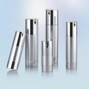 Quality Airless Mist Sprayer Hide Away makeup pump bottle 50ml 80ml 100ml for sale