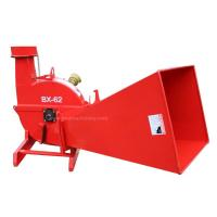 Quality 30 - 100HP Tractors 3 Point Hitch Brush Chipper Mechanical Type Simple Design for sale