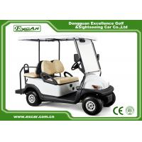 Quality KDS Motor Used Electric Golf Carts 4 Seater 48V Trojan Batteries Powered for sale