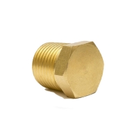 Quality Low pressure Brass Threaded Hex Pipe Fittings Nipple For Plumbing for sale