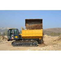 Quality 12 Ton Crawler Dump Truck Tracked Carrier For Mud Road , Swamp , Snow Slopes for sale