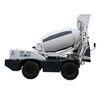 Quality self loading concrete mixer truck H2500 (2.5 m³, integrated chassis) for sale
