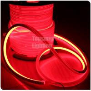 Best hot sales long life 24v red color square led neon flex rope light ip67 wholesale